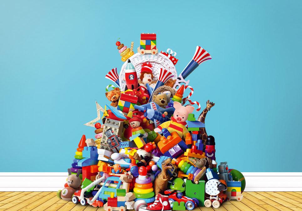 Spielzeugberg