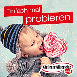 Anzeige der Gießener Allgemeinen Zeitung
