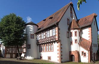 Außenansicht des Museum Brüder Grimm-Hauses in Steinau an der Straße