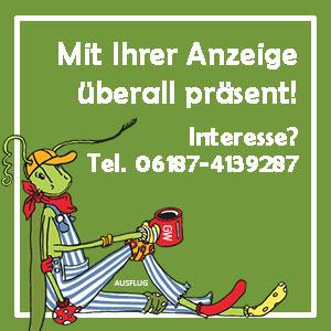 Anzeige des Kulturamtes Frankfurt