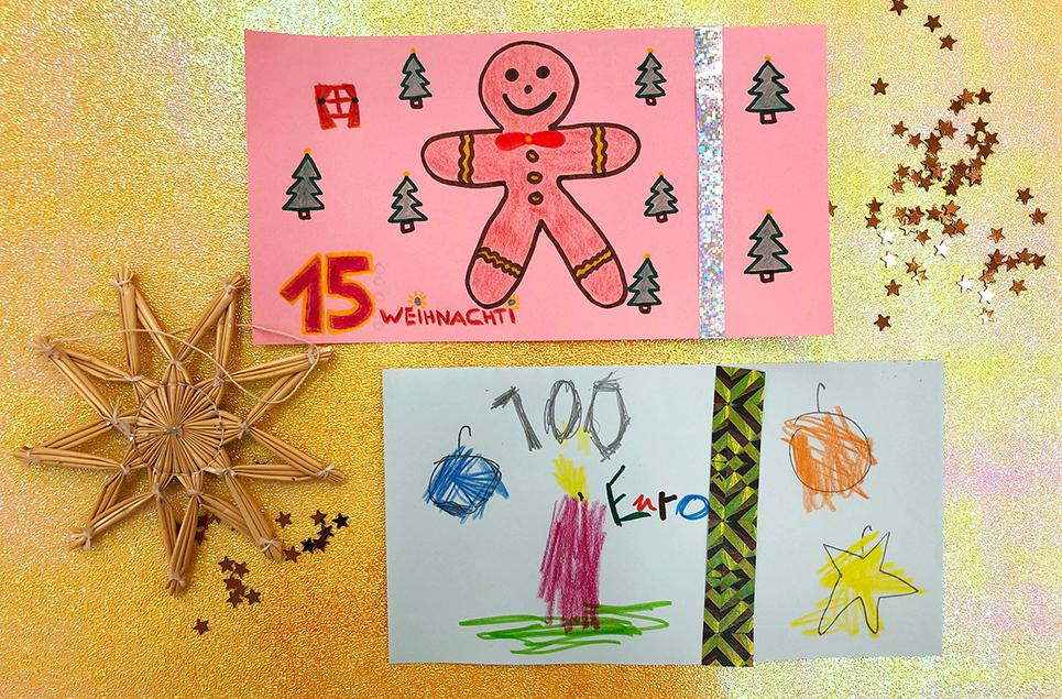 """Gestalte eine Banknote zum Thema """"Weihnachten"""""""