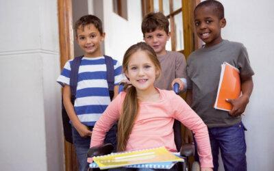 Kann ein behindertes Kind die Regelschule besuchen?