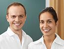 Dr. Lisa Meyding und Dr. Moritz Meyding