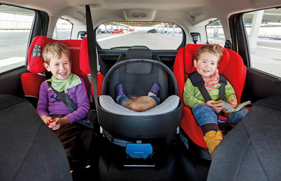 Sicher im Wohnmobil – mit Kindersitz in den Urlaub