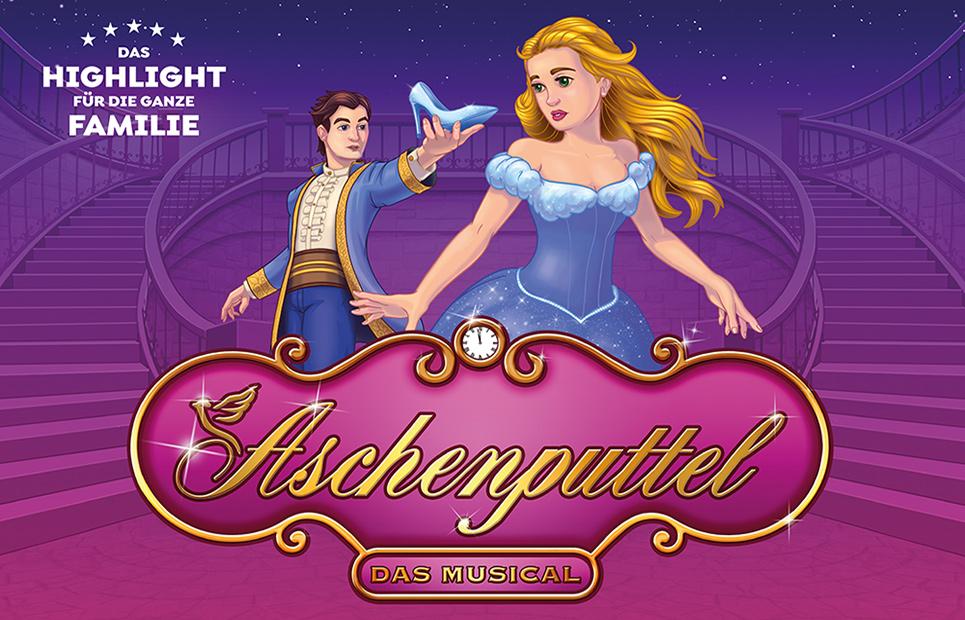 """Plakat zum Musical """"Aschenputtel"""""""